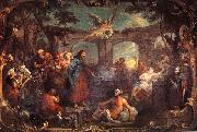 William Hogarth The Pool of Bethesda oil painting artist