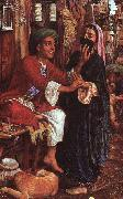 William Holman Hunt The Lantern Maker's Courtship oil painting artist