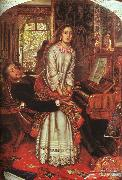William Holman Hunt The Awakening Conscience oil painting artist