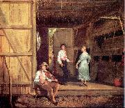 William Sidney Mount Dancing on the Barn oil painting picture wholesale