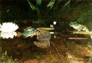 Winslow Homer The Mink Pond oil painting picture wholesale