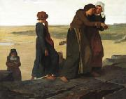 evariste vital luminais The Widow or Teh Fisherman's Family oil painting picture wholesale