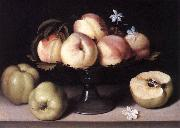 NUVOLONE, Panfilo Still-life with Peaches ag oil painting picture wholesale