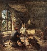 OSTADE, Adriaen Jansz. van The Painter in His Studio sg oil painting picture wholesale