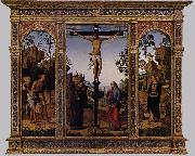 PERUGINO, Pietro The Galitzin Triptych af oil painting artist