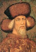PISANELLO Portrait of Emperor Sigismund of Luxembourg iug oil painting artist