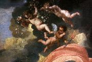 POUSSIN, Nicolas The Triumph of Neptune (detail)  DF oil painting artist
