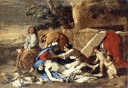 POUSSIN, Nicolas Lamentation over the Body of Christ af oil painting artist