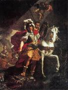 PRETI, Mattia St. George Victorious over the Dragon af oil painting artist