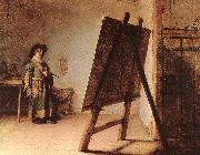 REMBRANDT Harmenszoon van Rijn The Artist in his Studio oil painting picture wholesale