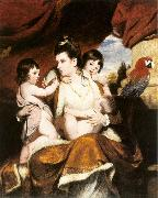 REYNOLDS, Sir Joshua Lady Cockburn and her Three Eldest Sons dy oil painting picture wholesale