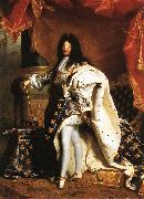RIGAUD, Hyacinthe Portrait of Louis XIV gfj oil painting artist