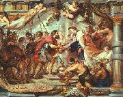 RUBENS, Pieter Pauwel The Meeting of Abraham and Melchizedek fa oil painting picture wholesale