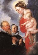 RUBENS, Pieter Pauwel Virgin and Child af oil painting artist