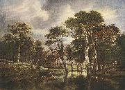 RUISDAEL, Jacob Isaackszon van The Hunt g oil painting picture wholesale