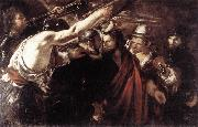 SERODINE, Giovanni Parting of Sts Peter and Paul Led to Martyrdom set oil painting picture wholesale