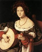 SOLARI, Andrea The Lute Player fg oil painting picture wholesale