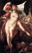 SPRANGER, Bartholomaeus Venus and Adonis f oil painting artist