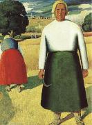 Kasimir Malevich Reapers oil painting artist