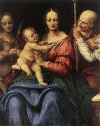 Cesare da Sesto Holy Family with St Catherine oil painting artist