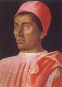 Andrea Mantegna Portrait of Carlo de Medici oil painting artist