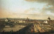 Bernardo Bellotto Vienna,Seen from the Belvedere Palace oil painting artist