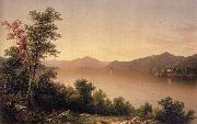 Casilear John William View on Lake George oil painting artist