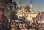 Germain-Fabius Brest View of Constantinople oil painting artist