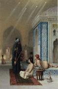 Jean-Leon Gerome Pool in a Harem oil painting artist
