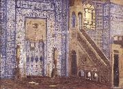 Jean-Leon Gerome Interior of a Mosque oil painting artist