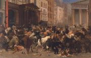 William Holbrook Beard Bulls and Bears in the Market oil painting artist