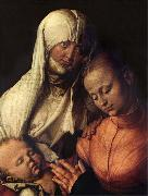 Albrecht Durer The Virgin and child with St.Anne oil painting artist