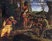 Andrea Mantegna Adoration of the Shepherds oil painting artist