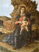 Andrea Mantegna The Madonna and the Nino oil painting artist