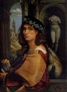 CAPRIOLO, Domenico Portrait of a man oil painting artist