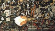 Diego Rivera From Great Conquest to 1930 oil painting artist