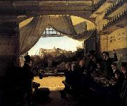 Franz Ludwig Catel Crown Prince Ludwig in the Spanish Wine Tavern in Rome oil painting artist