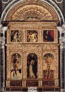 Giovanni Bellini St.Vincent Ferrer Polyptych oil painting artist