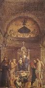 Giovanni Bellini Altar piece for the S. Giobbe oil painting artist