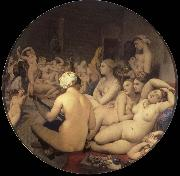 Jean-Auguste Dominique Ingres The Turkish bath oil painting artist