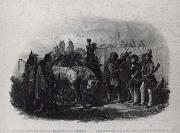 Karl Bodmer The Travelers meeting with Minnetarree indians near fort clark oil painting artist