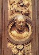 Lorenzo Ghiberti Self-portrait oil painting artist