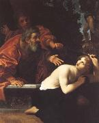 Ludovico Carracci Susannah and the Elders oil painting artist