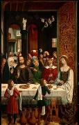 MASTER of the Catholic Kings The Marriage at Cana oil painting artist