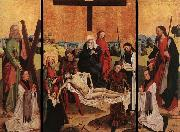MASTER of the Life of the Virgin Triptych of Canon Gerhard ter Streegen de Monte oil painting artist