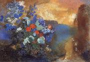 Odilon Redon Ophelia Among the Flowers oil painting artist