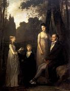 Pierre-Paul Prud hon Rutger Jan Schimmelpenninck with his Wife and Children oil painting artist