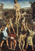 Pollaiuolo, Piero The Martydom of Saint Sebastian oil painting artist