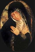 Quentin Matsys The sad Virgin oil painting artist