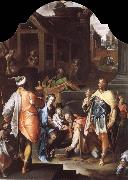 SPRANGER, Bartholomaeus The Adoration of the Kings oil painting artist